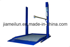Car Vertical Parking Ce Hydraulic Two Post Car Lift