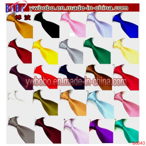 Silk Necktie Hand Nylon Tie Connector Mens Ties (B8041)