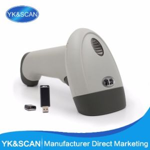 Wireless 1d Suppermarket CCD Barcode Scanner pictures & photos