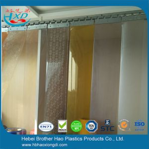 Eco Friendly Smooth 1mm Thick PVC Plastic Door Strip Curtain