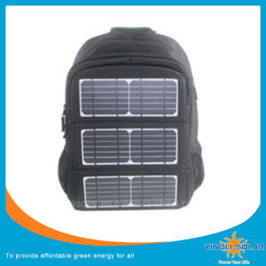 Solar Backpack with Solar Panels and Power Bank for Outdoor pictures & photos
