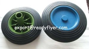 Wheelie Bin Wheel with Colored Rim pictures & photos