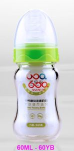 60ml Neutral Boroslicate Glass Baby Feeding Bottle pictures & photos