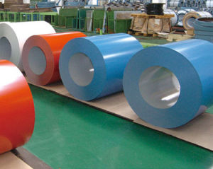 Color Coated Galvanized Steel Coils PPGI for Roofing
