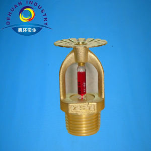Automatic Brass Fire Sprinkler with 3mm Glass Bulb