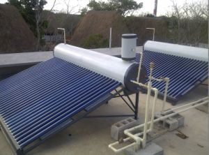 Copper Coil Solar Water Heater-CC Model pictures & photos