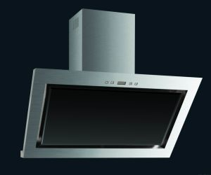 900mm Wall Mounted Stainless Steel Grease Exhaust Home Range Hood with Smaller Chimney Cooker
