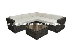 Good Quality Round Sectional Outdoor Furniture, Corner Sofa