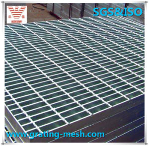 Steel Grating with Serrated Bearing Bar Hot-DIP