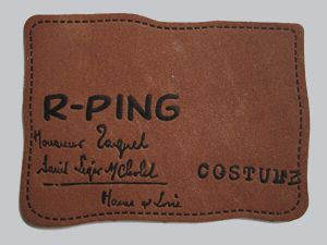Manufacturer China Cheap Price Leather Label pictures & photos