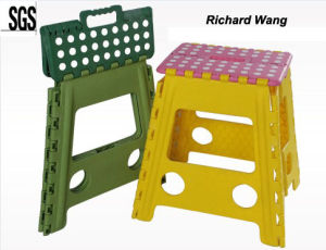 Colorful Folding Stool SGS Certificate