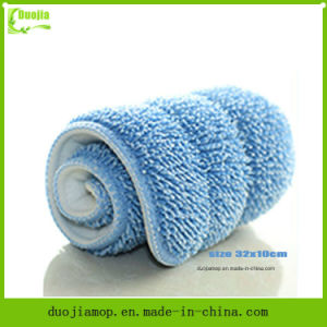 Flat Microfiber Mop Pad Cleaner pictures & photos