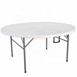 Hotsale Portable 72 Inch Rectangle Plastic Outdoor Camping Picnic Folding Tables