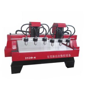 Xfl-2025-6 Woodworking Engraving Machine CNC Router for Nameplate