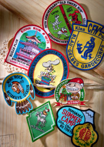 A01 Embroidered Badges / Patches