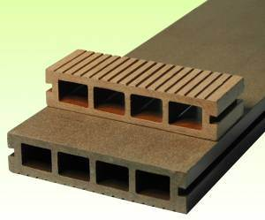 146x31mm Wood Plastic Composite Project Decking/Deck Board