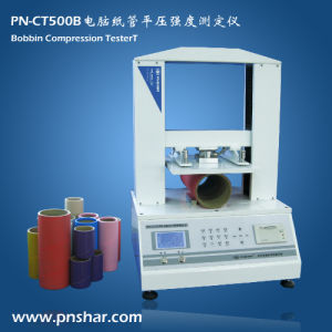 Bobbin Crush Compression Testing Machine for Paper Testing pictures & photos