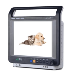 8.4-Inch CE Carefully Designed Medical Veterinary Monitor with SpO2 Resp ECG NIBP Pr/Hr