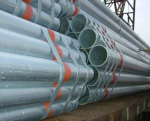 Galvanized Welded Round Steel Pipes on Sale pictures & photos