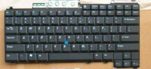 Laptop Keyboard Layout for with Stick Point for DELL (D620 D820) Us Version