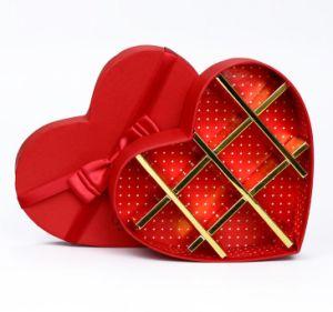 China Heart Shape Handmade Chocolate Box With Ribbon For Valentines Day China Custom Chocolate Box And Paper Chocolate Box Price