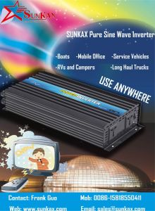 5000W off Grid DC to AC Modified Sine Wave Power Inverter