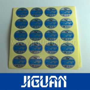 Silk Screen Printed Custom Logo Weatherproof Sticker pictures & photos