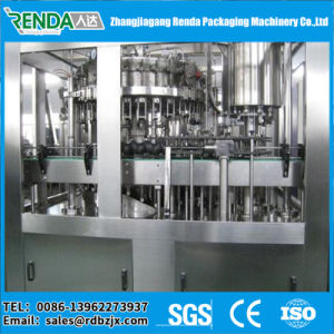 Automatic Can Carbonated Soft Drink Production Line/Soda Juice Filling Machine pictures & photos