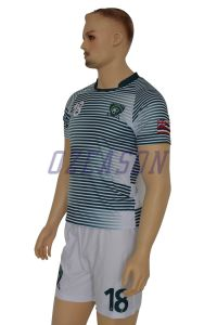 Factory OEM High Quality Cheap Breathable Sublimation Soccer Jersey (S005) pictures & photos