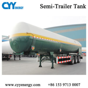 LPG/Lox/LNG Cryogenic Storage Tank Semi-Trailer pictures & photos
