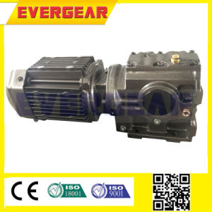 S Helical Worm Flange Mounted Gearmotor pictures & photos