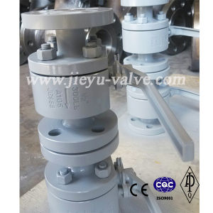 Forged Steel A105 Flange Ends Ball Valve pictures & photos