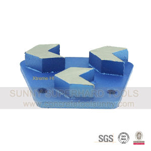 Arrow Segments Diamond Tools Grinding Shoe for Concrete Floor pictures & photos