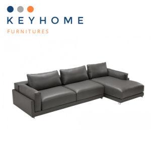 American Style Contemporary Leather Corner Sofa