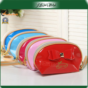 Single Handle Multi Colors PU Cosmetic Plastic Bag Price pictures & photos