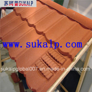 Stone Coated Metal Roof Tile pictures & photos