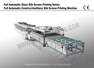 Full Automatic Construction Glass Silk Screen Printing Machine pictures & photos