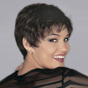 8\' Short Curly Wigs African American Cheap