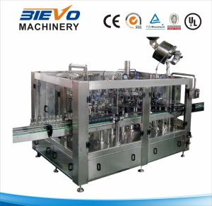 Carbonated Gas Drink Filling Machinery of Glass Bottle pictures & photos