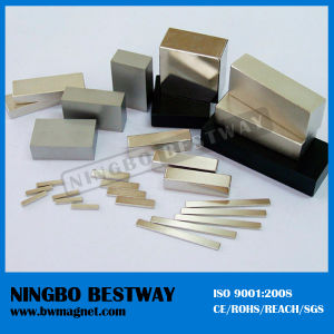 Zinc Epoxy 20X5X3 mm Block Neodymium Magnet pictures & photos