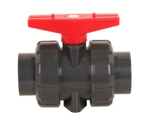 Plastic PVC/UPVC Double/Ball Union Valve High Quality pictures & photos