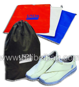 Nylon Promotional Drawstring Sports Backpack Gym Bag (HBDR-72) pictures & photos