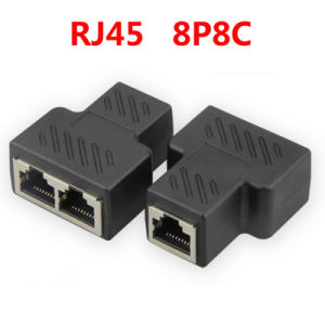RJ45 Splitter 1 Female to 2 Female Suitable for Super Category 5/6 Ethernet pictures & photos