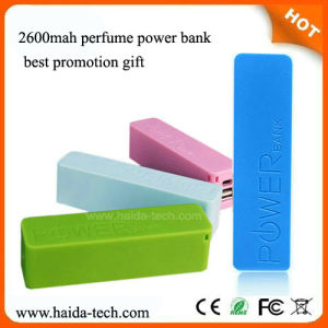 Promotion Gift 2600mAh Power Bank with CE, FCC, RoHS Certificate