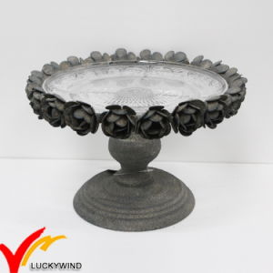 Antique French Recycle Pedestal Metal Cake Plate Stand & China Antique French Recycle Pedestal Metal Cake Plate Stand - China ...