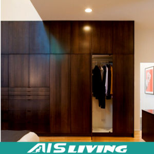 Appealing High-Quality MDF Bedroom Closet Wardrobe Cabinets (AIS-W153)