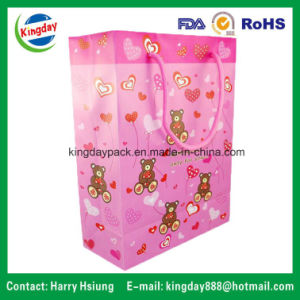 PVC Plastic Bags with Soft Carrier Handle