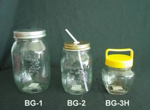 Small and Big Size Mason Jar Containers
