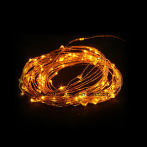 China Micro Led Copper Wire String Lights For Holiday Time