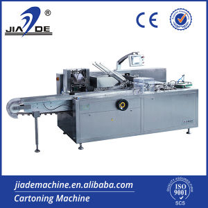 Automatic Tray Cartoning Machine for Food/Vial (JDZ-100G)